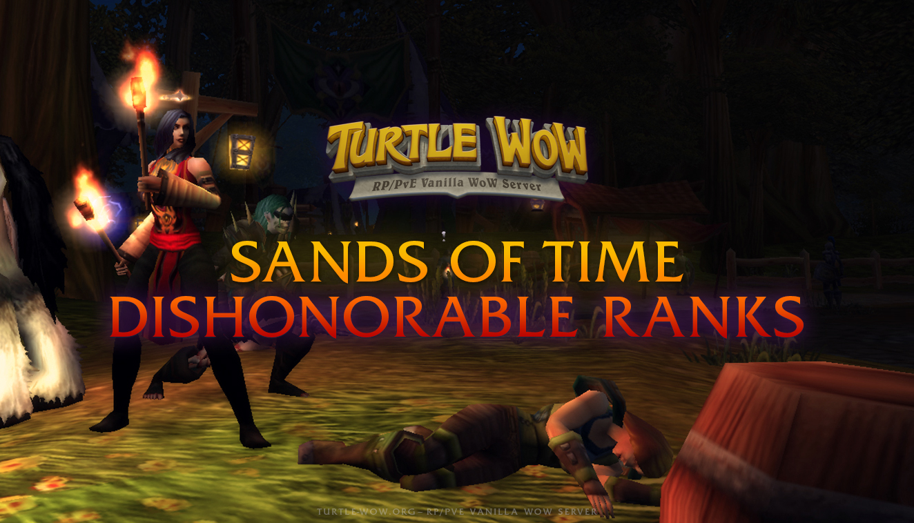 Turtle WoW — RP/PVE Vanilla Server